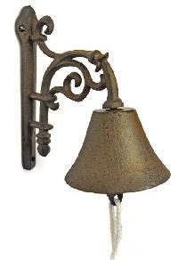 iron garden bells