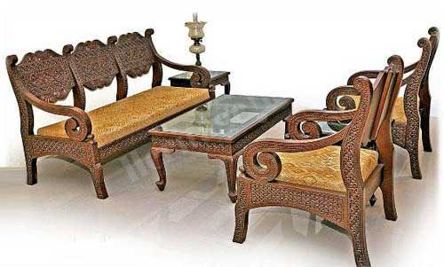 Buy Wooden Sofa Set From Heritage India New Delhi India Id 261321