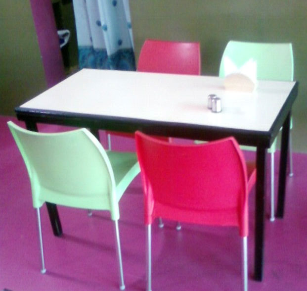 Cafeteria Table, Cafeteria Chairs (Cafeteria Table U0026 Ch)