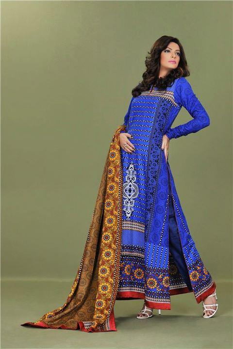 Sana Samia 3 pcs Shalwar Kameez (ss12)