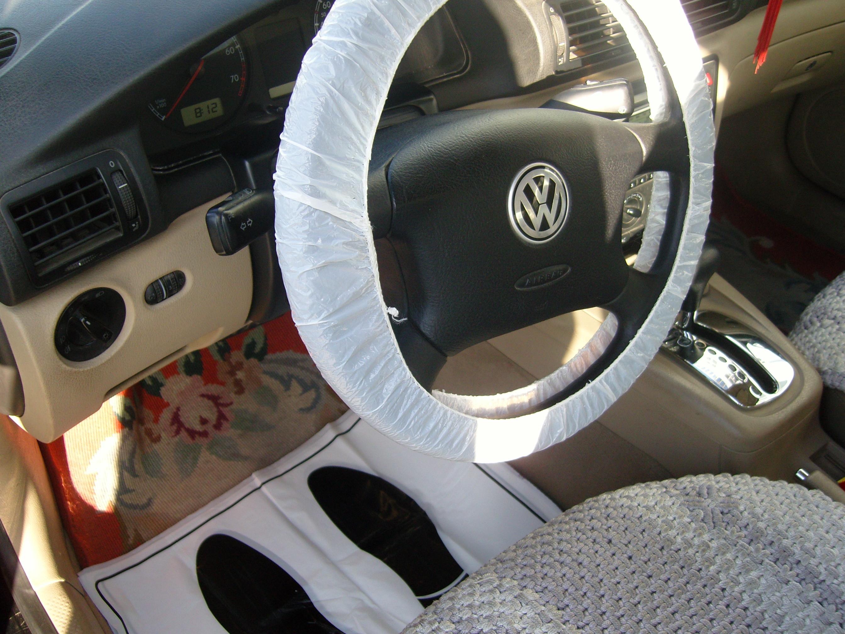 Car Seat Disposal >> Buy Pe Disposal Car Seat Cover From Qingdao Huaxuyang