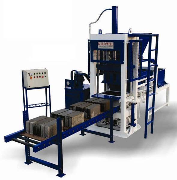 Buy Concrete Block Making Machine From Sahjanand Fly Ash