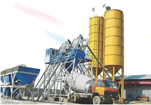Closed Plants Concrete : Buy hzs ready mix concrete plant from sinosun group