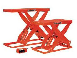 Buy Presto Scissor Lift from Globe Hydraulic, Ghaziabad