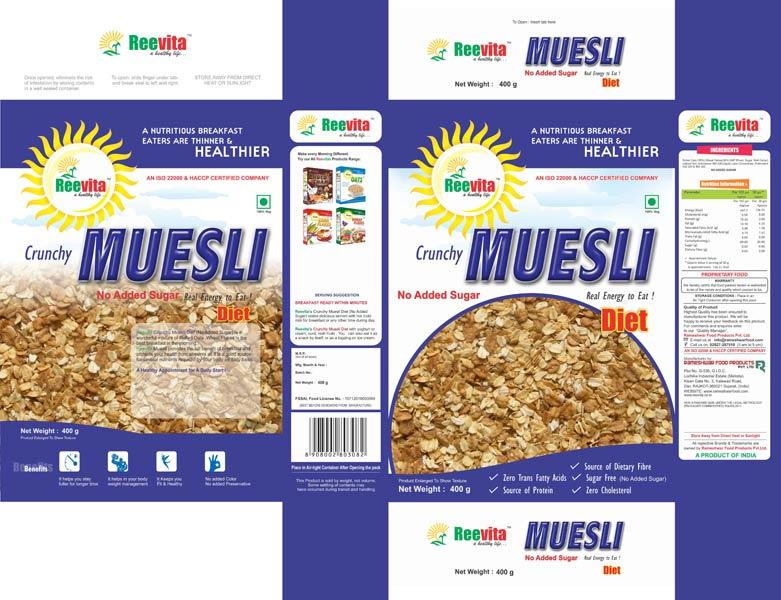 No Adeed Sugar Muesli