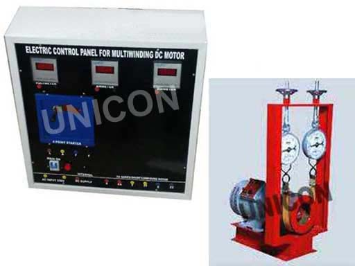Electric Motor Load Testers : Buy load test on dc series motor from unicon instruments