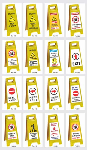 Wet Floor Safety Signs