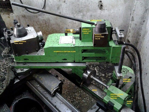 Buy Hydraulic Copy Turning Attachment For Lathe From Gamut