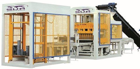 Block Machines - Block Making Machines (QT8 SEMI)