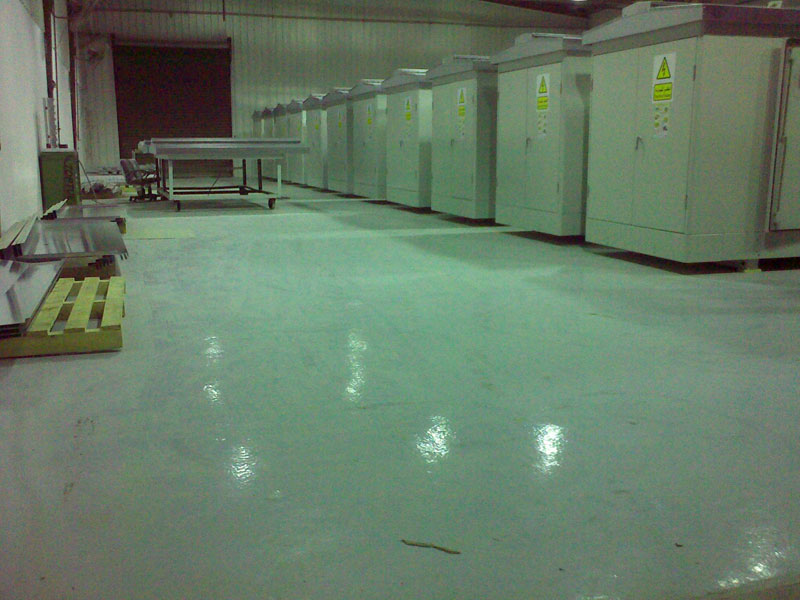 Self Leveling Flooring Service : Self leveling epoxy flooring egypt by delta misr for