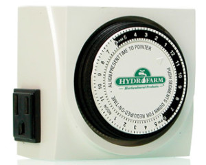 Dual Outlet Analog Timer