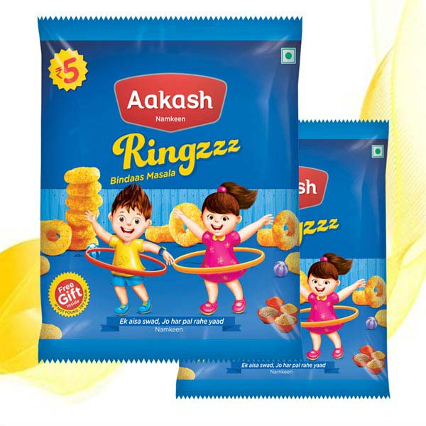 Ring Fryums Manufacturer & Manufacturer From, India