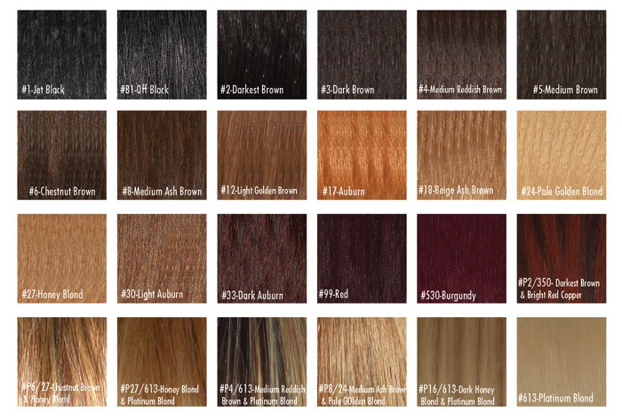 Buy Human Hair Color Chart From Arrow Exim India  Id