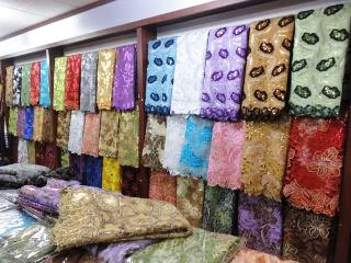 African Voile Lace Fabric (African Voile Lace F)