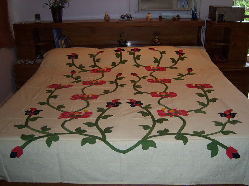Applique Bedsheet Traditional Hand Made Bedsheets