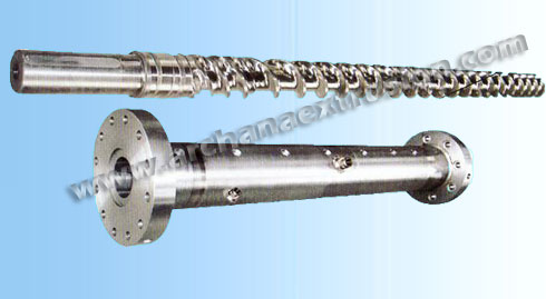 plastic extruder screw barrel