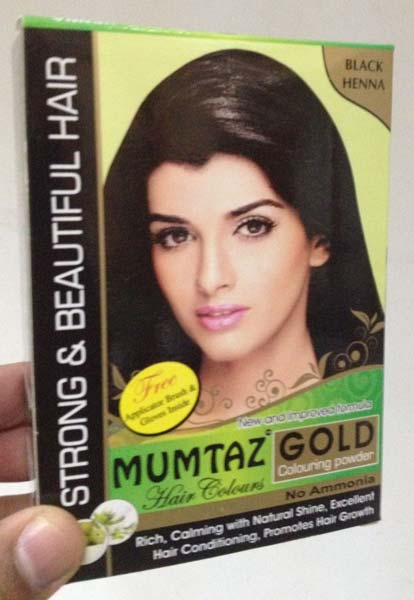 Mumtaz Gold Black Henna Hair Color Manufacturer Manufacturer From