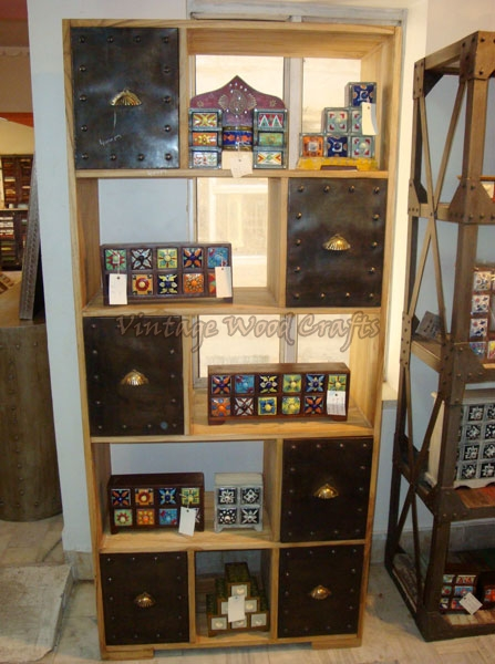 Wooden Bookshelves