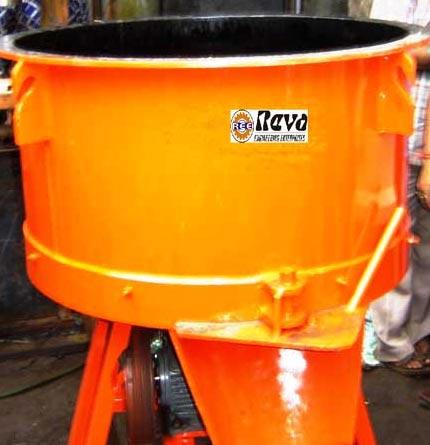 Pan Type Concrete Mixer