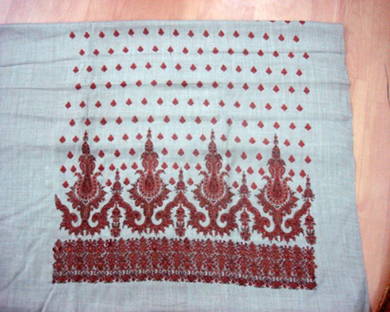 Unstitched Woolen Pashmina Suits