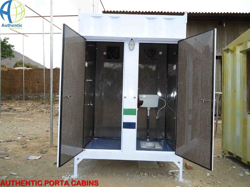 Buy Modular Toilet Cabin From Authentic Porta Cabins