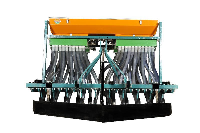 21 Teeth 42 Pipes 63inch Hopper Seed Cum Fertilizer Drill