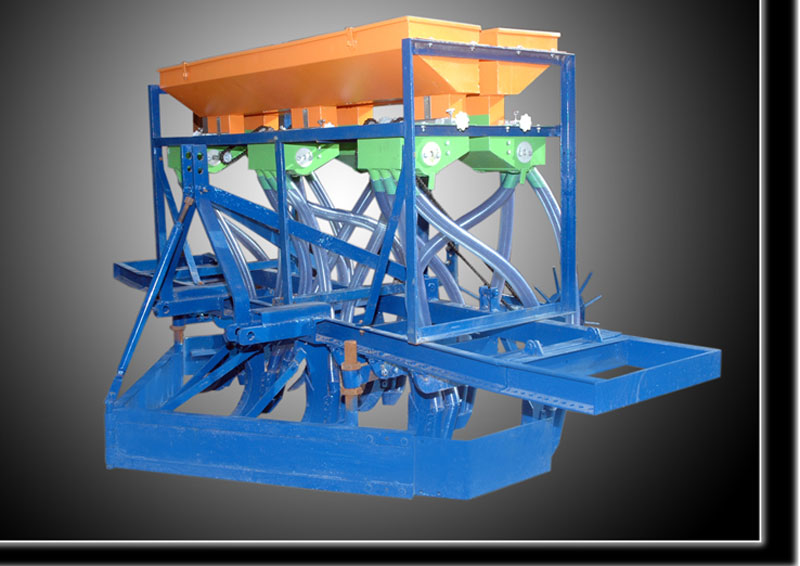 Hopper automatic seed drill (-)