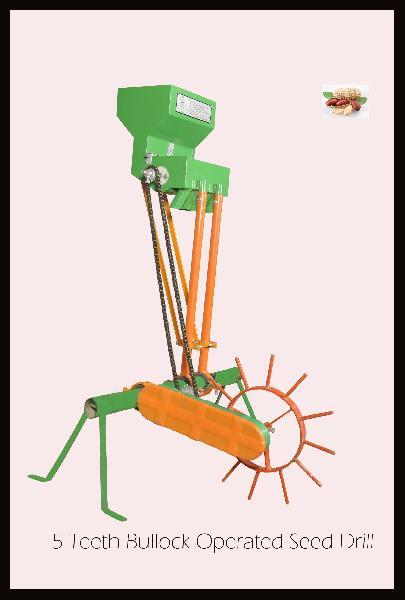 Bullock Operated Seed Drill