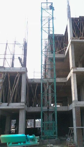 Construction Builder Hoist (BHA-500)
