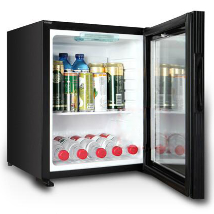 Buy Absorption Hotel Mini Bar Glass Door Mini Fridge From Guangzhou