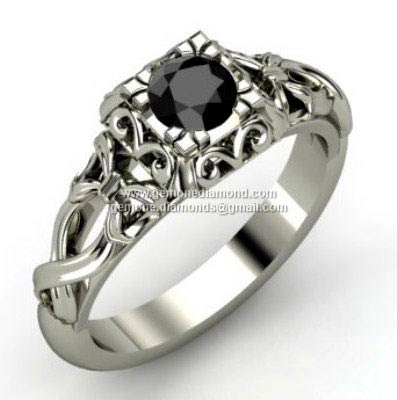 Silver Diamond Ring At Bottom Price In India 85