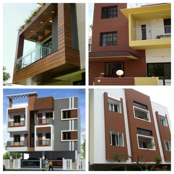 Exterior Wall Cladding Services : Buy exterior wall cladding from fortune teak doors