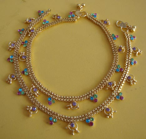 anklet remarkable are anklets back in popular bead designs trend that