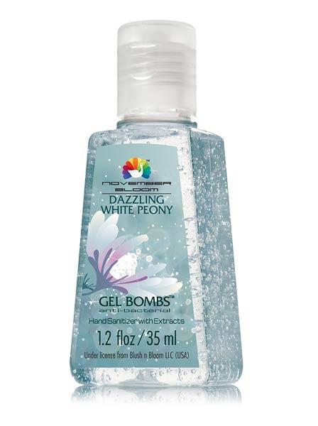 Dazzling White Peony Hand Sanitizer