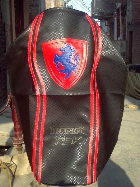 Ferrari Design Motorcycle Seat Cover Manufacturer Manufacturer