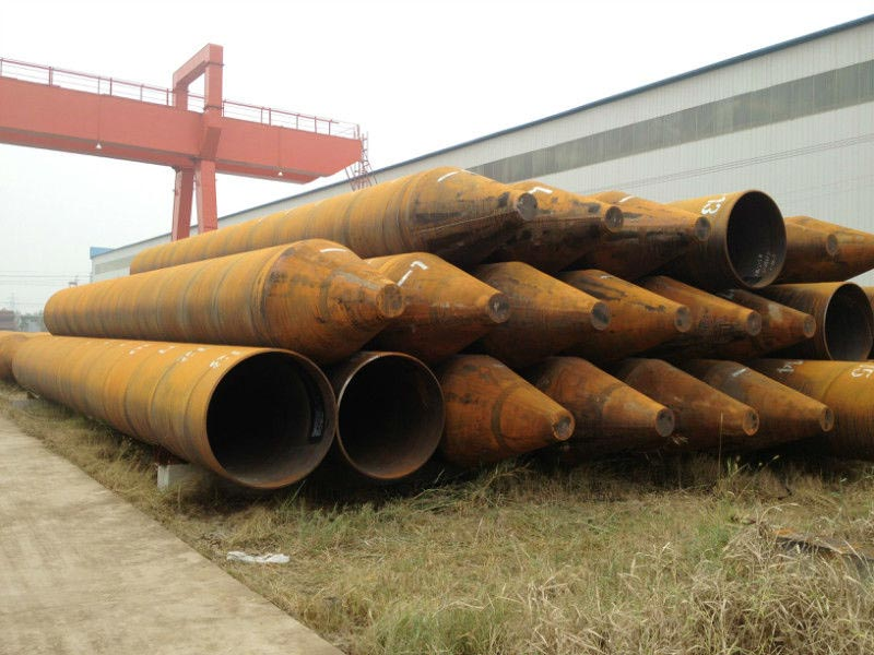 Carbon Steel Pipe Piles Manufacturer & Exporters from Mumbai