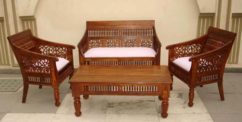 Wooden Sofa Set Manufacturer & Exporters From Jodhpur, India | ID - 759703