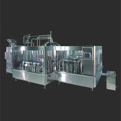 Fully Automatic High Speed Liquid Rotary Filling Line