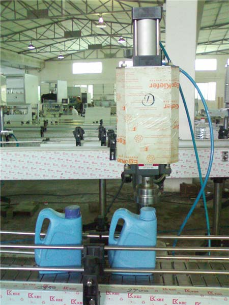 LY-1 Screwing and capping machine