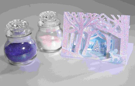 Magical Film for Glitter Powder
