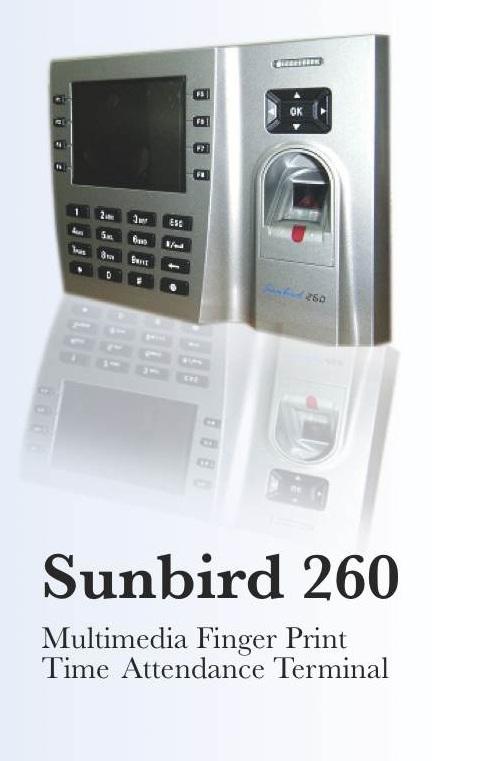 Fingerprint Attendance Machines (Sunbird 260)