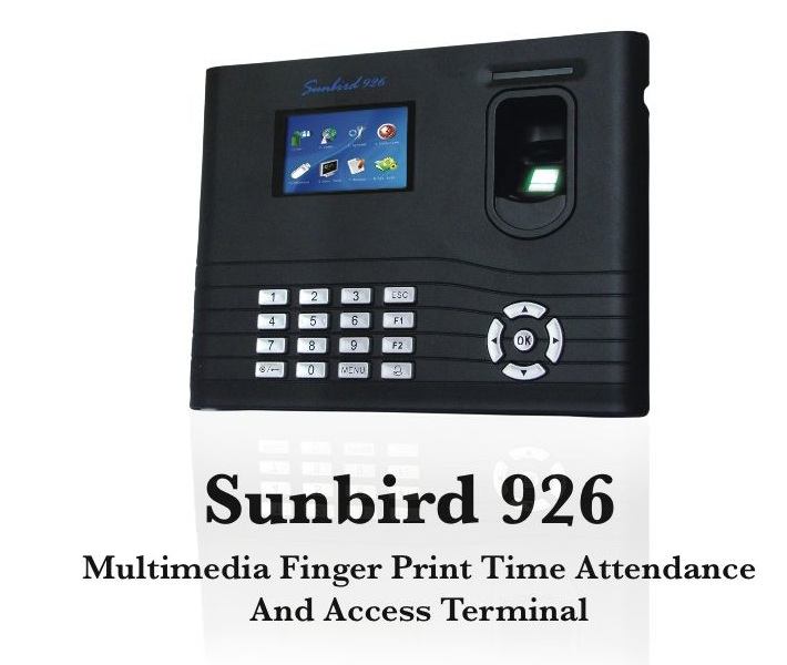 Fingerprint Attendance Machines (Sunbird 926)
