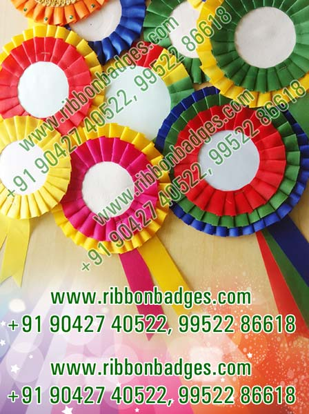 Ribbon Badges Manufacturer & Wholesale Suppliers from, India