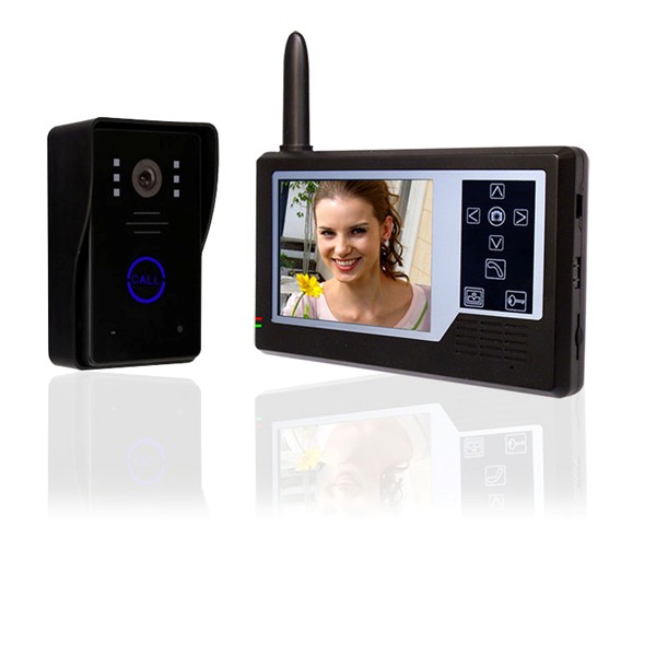 Touch Key Wireless Video Door Phone Intercom System Manufacturer In