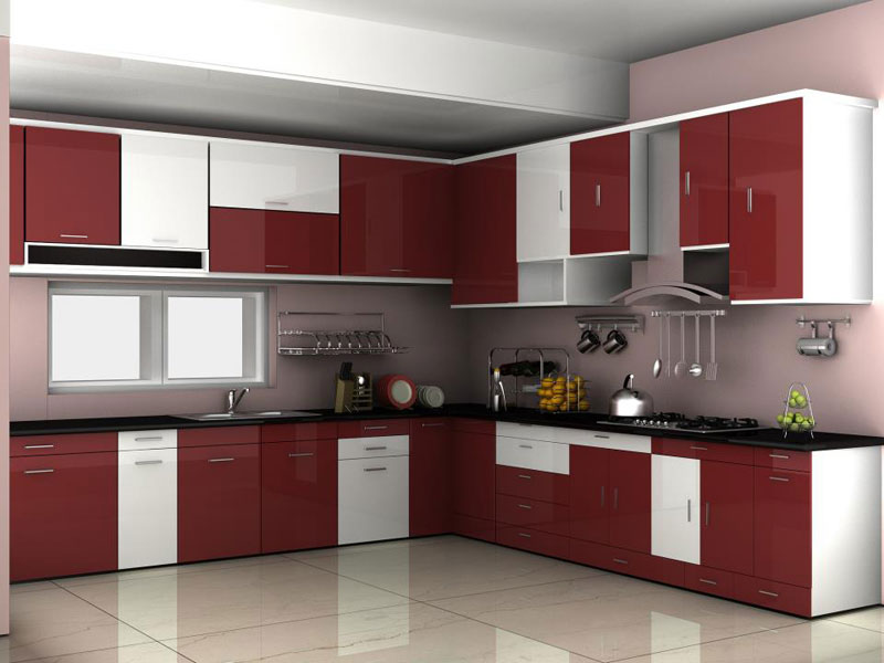 Modular kitchen manufacturer manufacturer from india for Sample modular kitchen designs