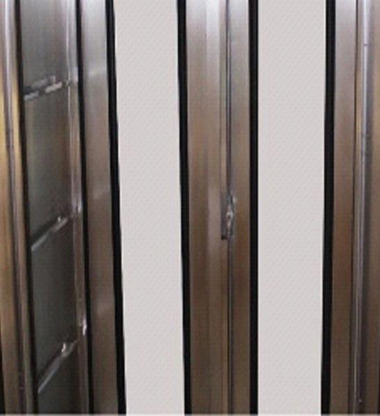 Stainless Steel Double Door Cabinet