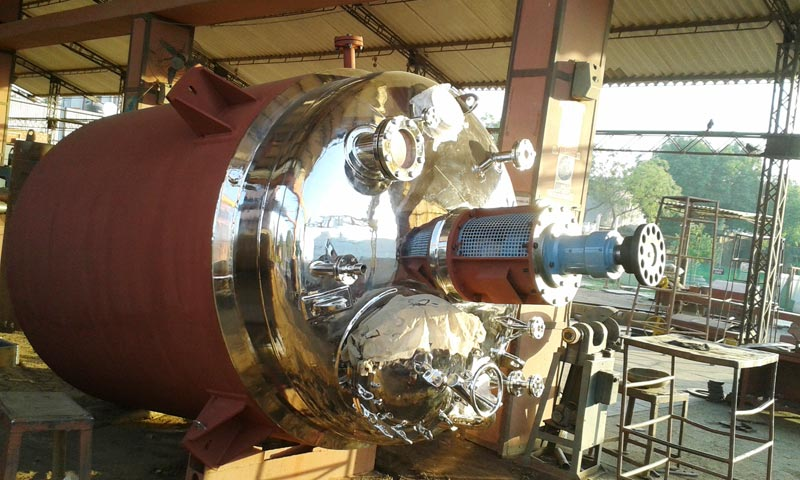 Jacketed Reaction Vessel