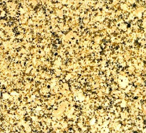 Crystal Yellow Granite Stone From
