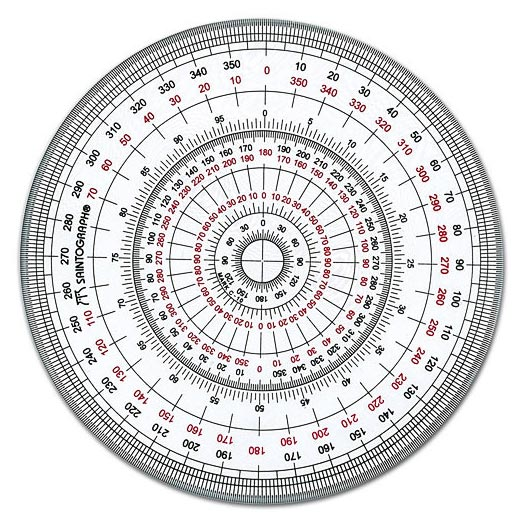 Circular protractor manufacturer manufacturer from for Circular protractor template