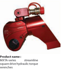 Square Drive Hydraulic Torque Wrenches